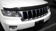 Jeep Grand Cherokee 2017-2018 - Дефлектор капота темный (EGR) фото, цена