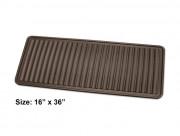 Коврики резиновый в дом напольный универсальный с бортиком, коричневый. (WeatherTech) фото, цена