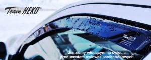 Audi Q7 2006-2016 - Дефлекторы окон (ветровики), к-т 2 шт., вставные. HEKO-team фото, цена