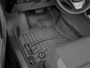 Toyota Corolla 2017-2019 - Коврики резиновые с бортиком, передние, черные. (WeatherTech) АКПП фото, цена