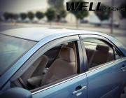 Toyota Camry 2002-2006 - Дефлектори вікон Premium серії, к-т 4 шт (Wellvisors) фото, цена