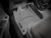 Honda Passport 2019-2021 - Коврики резиновые с бортиком, передние, cерый (WeatherTech) фото, цена