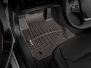 BMW 3 2012-2020 - Коврики резиновые с бортиком, передние, какао. (WeatherTech) (AWD)  фото, цена