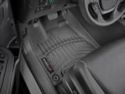 Honda Ridgeline 2017-2021 - Коврики резиновые с бортиком, передние, черные (WeatherTech) фото, цена
