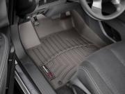 Nissan Murano 2019-2021 - Коврики резиновые с бортиком, передние, серые (WeatherTech) фото, цена