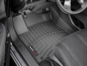 Nissan Murano 2019-2021 - Коврики резиновые с бортиком, передние, черные (WeatherTech) фото, цена