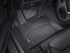 BMW X6 2008-2013 - Коврики резиновые с бортиком, передние, черные. (WeatherTech) фото, цена