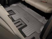 Mercedes-Benz GLS 2020-2021 - Коврики резиновые с бортиком, 3-ряд, какао (WeatherTech) фото, цена