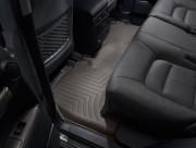 Toyota Highlander 2020-2021 - Коврики резиновые с бортиком, задний, какао. (WeatherTech) фото, цена