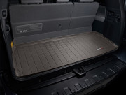 Toyota Sequoia 2008-2021 - (3 ряда сидений) Коврик резиновый в багажник, какао. (WeatherTech) фото, цена
