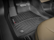 Tesla Model S 2014-2021 - Коврики резиновые с бортиком, передние, черные. (WeatherTech) фото, цена