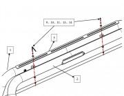 Универсальные товары  - Крепления для дуги Black Horse RB001SS фото, цена