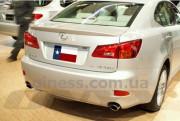 Lexus IS 2006-2011 - Лип спойлер на крышку багажника (под покраску) фото, цена