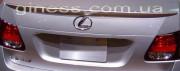 Lexus LS 2007-2011 - Лип спойлер на крышку багажника (под покраску) фото, цена