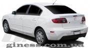 Mazda 3 2004-2009 - Лип спойлер на крышку багажника (под покраску) фото, цена