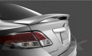 Mazda 6 2008-2011 - Спойлер на крышку багажника со стопом (под покраску) фото, цена