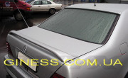 Mercedes-Benz S 1992-1998 - Спойлер на крышку багажника (под покраску) фото, цена