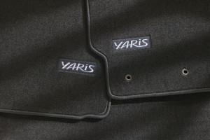 Toyota Yaris 2007-2009 - (Htb/Sedan) - Коврики тканевые к-т 4шт фото, цена
