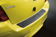 Toyota Yaris 2009-2010 - (Htb 3D/Htb 5D) - Накладка на задний бампер фото, цена