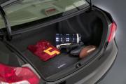 Toyota Yaris 2007-2010 - (Sedan) - Текстильный коврик в багажник фото, цена