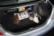 Toyota Camry 2006-2011 - Резиновый коврик с бортиком для багажника. фото, цена
