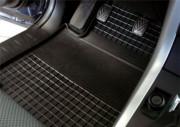 Chevrolet Tacuma 2002-2009 - Коврики резиновые, темно-серые, комплект 4 штуки. (Doma) фото, цена