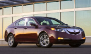 Acura TL 2009-2010 - Накладки на стойки хромированные, комплект 4 штуки. (USA) фото, цена