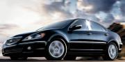 Acura RL 2005-2012 - Накладки на стойки хромированные, комплект 4 штуки. (USA) фото, цена