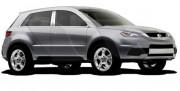 Acura RDX 2007-2012 - Накладки на стойки хромированные, комплект 6 штук. (B&I) фото, цена