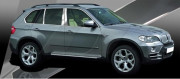 BMW X5 2007-2010 - Накладки на стойки хромированные, комплект 6 штук. (USA) фото, цена