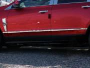 Cadillac SRX 2010-2011 - Молдинги хромированные  к-т 8 шт. фото, цена