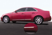 Cadillac CTS 2008-2010 - (CTS / CTS Wagon) - Молдинги хромированные. фото, цена