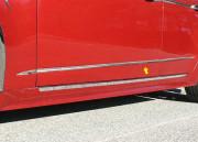 Cadillac CTS 2008-2010 - (CTS Sports Wagon 2010) - Молдинги хромированные  к-т 6 шт. фото, цена