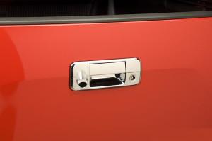 Toyota Tundra 2007-2013 - Хромированная накладка на ручку багажника с камерой заднего вида. фото, цена