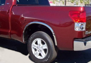 Toyota Tundra 2007-2013 - Хромированные накладки на арки  к-т 4 шт.  фото, цена