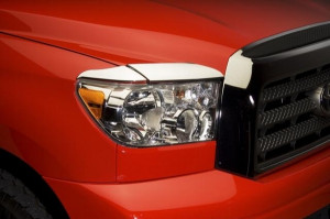Toyota Tundra 2007-2013 - Реснички хромированные. фото, цена