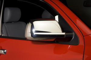 Toyota Tundra 2007-2014 - Хромированные накладки на зеркала (PUTCO) фото, цена