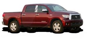 Toyota Tundra 2007-2013 - Хромированные накладки на стойки  к-т 4 шт. фото, цена