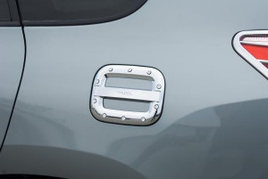 Toyota Rav 4 2006-2009 - Хромированная накладка на лючок бензобака. фото, цена