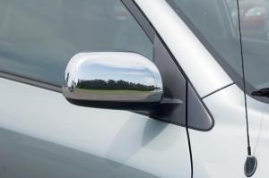 Toyota Rav 4 2006-2010 - Хромированные накладки на зеркала. фото, цена