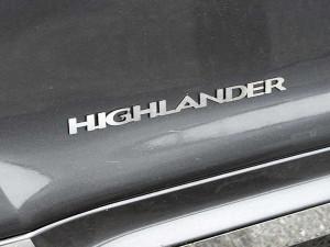 Toyota Highlander 2008-2013 - Хромированый логотип,  к-т 2 шт. (SAA) фото, цена