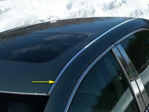 Toyota Camry 2006-2011 - Хромированные накладки на крышу  к-т 2 шт.(PUTCO) фото, цена