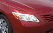 Toyota Camry 2006-2011 - Реснички хромированные. (PUTCO) фото, цена