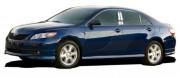 Toyota Camry 2006-2011 - Хромированные накладки на стойки  к-т 4 шт. фото, цена