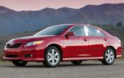 Toyota Camry 2006-2011 - Хромированные накладки на стойки  (к-т  6 шт.) фото, цена