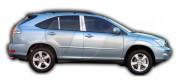 Lexus RX 2003-2009 - Хромированные накладки на стойки  к-т 6 шт. фото, цена