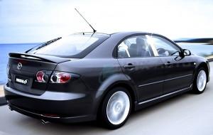 Mazda 6 2003-2008 - Хромированные накладки на стойки  (к-т 4 / 6 шт.) фото, цена