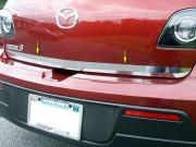 Mazda 3 2003-2009 - Хромированная накладка на кромку багажника. (SAA) фото, цена