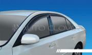 Hyundai Sonata 2004-2009 - Дефлекторы окон к-т 4 шт. фото, цена