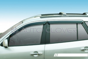 Hyundai Santa Fe 2006-2011 - Дефлекторы окон к-т 4 шт. (CLOVER) фото, цена